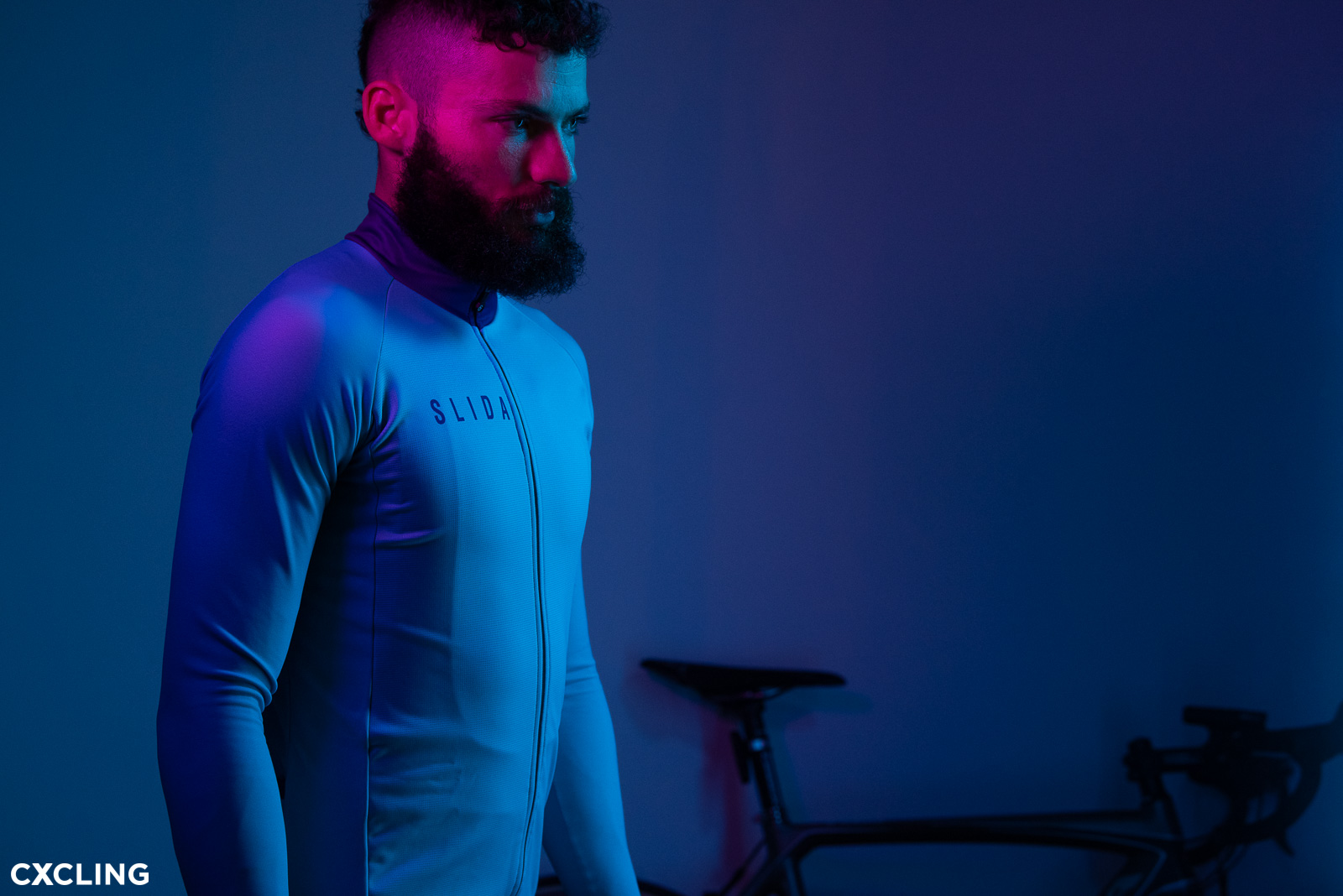 photosession cycling apparel